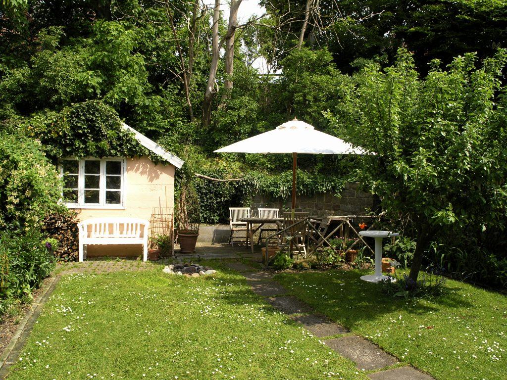 shade in the garden