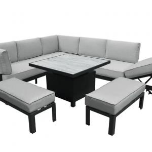 Apollo Comfort Corner with Adjustable Table